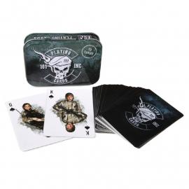Kaart spel ARMY - met Deluxe metalen doos