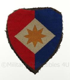 """KL embleem """"officieren staf eerste legerkorps"""" - vorige model - origineel"""