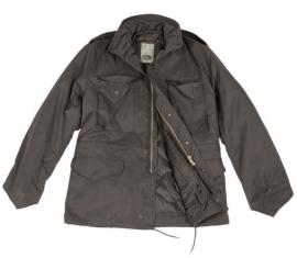 US Field Jacket with liner M65 Zwart