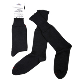 Leger sokken voor gevechtslaarzen - ZWART 70% wol - nieuw gemaakt