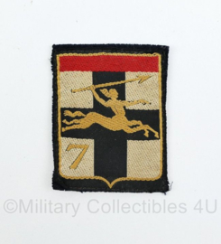 Franse 7DLB Insigne Armee Franaise cavalerie patch  - origineel