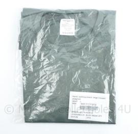 Defensie hemd vochtregulerend shirt met lange mouwen grijsgroen - nieuw in de verpakking - maat L - origineel