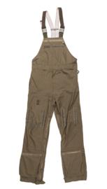 Pilot Flight trousers met bretels groen - maat 188/100 - origineel leger