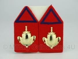 KL kraagspiegel set - Infanterie reserve onderofficieren - origineel