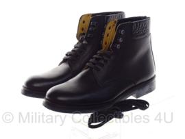 Koninklijke Marechaussee DT schoenen Jodhpur paardrijschoen Zwart leder - ongebruikt - maat 37,5 tm. 47,5 ! - origineel