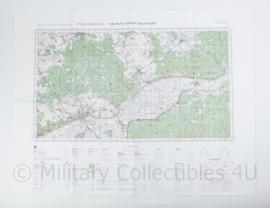 Poolse Stafkaart Gorzow Wielkopolski N-33-115,116 - 1 : 100.000 - 64 x 84 cm - origineel
