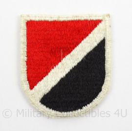 US Army Special Forces baret insigne 6th SFGA flash patch - afmeting 4,5 x 6 cm - origineel