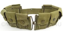 WO2 US Garand belt - afmeting 92 x 10 cm - origineel