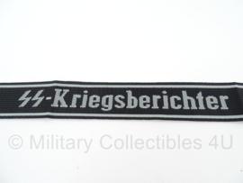 SS cufftitle Kriegsberichter - BEVO manschappen