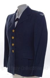 Canadese RCAF Royal Canadian Air Force dames uniform jas - 1952 (WO2 model) - maat 16R - origineel