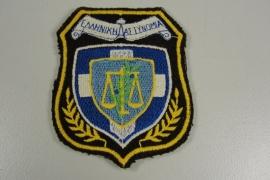 Griekse politie patch - origineel