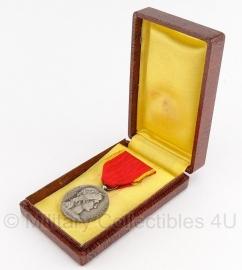 Frans republique francaise medaille La societe industrielle met doosje - Origineel