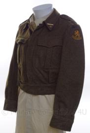 """MVO Officiers uniform jasje met rang """"Tweede Luitenant"""" - maat 48 - origineel"""