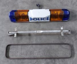 Politie auto lichtbalk Police - Rampe Mercura  - 105 x 25 cm - origineel
