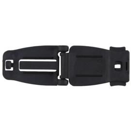 MOLLE adapter clip -  ZWART