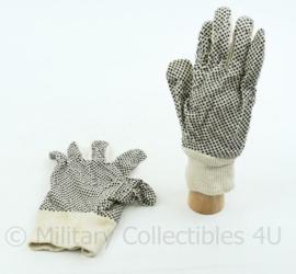 Korps Mariniers grip handschoenen - maat L - gedragen - origineel