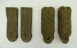 Rang insigne set Majoor of Luitenant - origineel