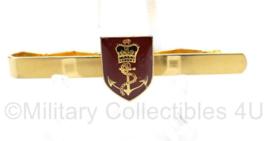 Koninklijke Marine dasspeld goudkleurig -  5,5 x 2,5 cm - origineel