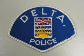 Delta Police patch - origineel