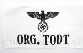 Armband ORG. TODT met adelaar - Organization Todt