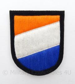WO2 Duitse Waffen SS Divisie Legion Niederlande embleem - extra kwaliteit - ronde onderkant