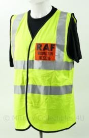 Britse RAF Mountain Resque fluor geel vest Royal Air Force - maat L - origineel
