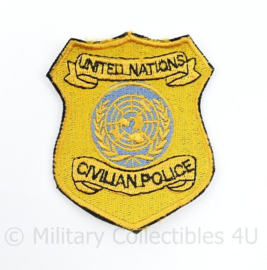 United Nations Civilian Police patch - 8 x 6,5 cm - origineel