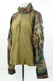 Korps Mariniers UBAC US Woodland forest camo - maat XL - origineel