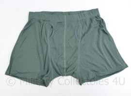 Defensie nieuwe heren Boxer Man Grijs/Groen foliage grijs - nieuw in verpakking - maat Large - origineel