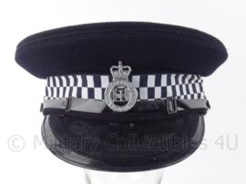 """Britse Police pet """"lincolshire constabulary"""" - voor hogere rangen - maat 7 1/8 - Origineel"""