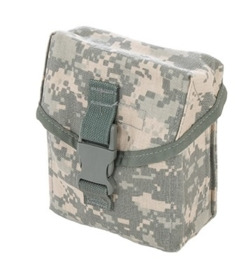 US Army Molle II ACU camo Utility pouch - Pouch IFAK Individual - nieuw in verpakking - 12 x 16 x 7 cm - origineel