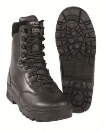Tactical boots Black - echt runderleder