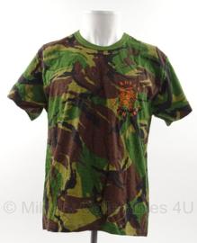 KL Nederlandse leger woodland shirt Nederlands leger met opdruk ROYAL DUTCH ARMY - nieuw - maat 8595/9505- origineel