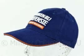 Werken bij Defensie baseball cap - donkerblauw - one size - origineel