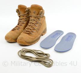Defensie MEINDL Desert schoenen - gebruikt tijdens de Mali missie - 270 M = 43 M - origineel