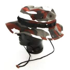 Bush hat Boonie hat - Red Urban camo - maat Medium