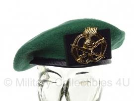 Baret Commando groen Korps Commandotroepen (zonder insigne)- nieuw gemaakt