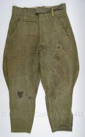 Wehrmacht Afrikakorps en Sommer Reithose pofbroek - origineel WO2 Duits