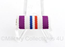 Nederlandse leger medaille baton Herinneringsmedaille Vredesoperaties - 3 x 1 cm - origineel