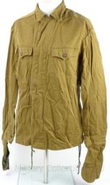 Russische uniform jas - khaki/bruin - maat 50/3 - origineel