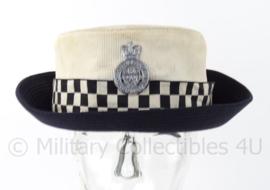 """Britse Politie hoed Dames - """"cleveland"""" constabulary  - origineel"""