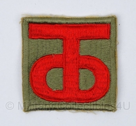 US  90th infantry Division embleem - origineel WO2