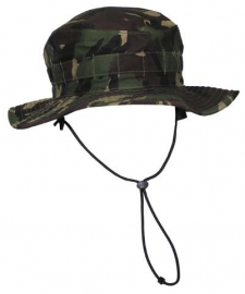 Combat Boonie Hat Tropical Woodland DPM Bush Hat, British Army Issue - 52 tm. 58 cm. - origineel