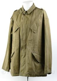 Zeldzaam vroeg model M58 MVO en KL jas in grote maat - maat  XL - origineel