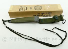 US 1968 M16 Vietnam oorlog M8A1 PWH schede - vooor M7 bajonet of M5a1 bajonet - MET ORIGINELE VERPAKKING - origineel US