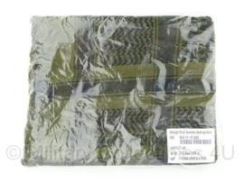 Shemagh - Shawl Zwart/groen nieuw in de verpakking - origineel KL Nederlands leger