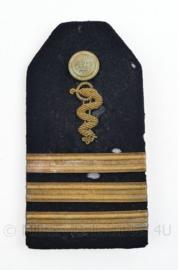 Koninklijke Marine officiers epaulet geneeskundige dienst - ENKELE epaulet  - begin 1900 -  Luitenant - origineel