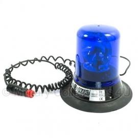 Politie zwaailicht blauw - 12 Volt aansluiting - origineel Britse politie!