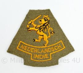 KNIL Nederlandse leger  embleem Mouwleeuw Nederlandsch Indie