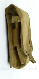 KL Nederlandse leger en Korps Mariniers MOLLE enkele Diemaco magazijntas - Profile Equipment - Coyote - 18 x 4 x 9 cm - nieuw - origineel